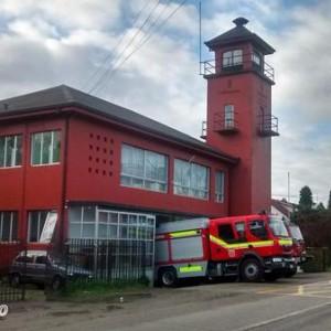 """Cuartel de la Novena Compañía de Valdivia """"Bomba Collico"""""""