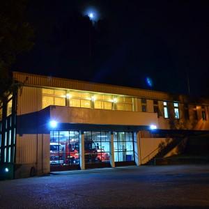 """Cuartel de la Séptima Compañía  """"Canelos"""" de Valdivia"""