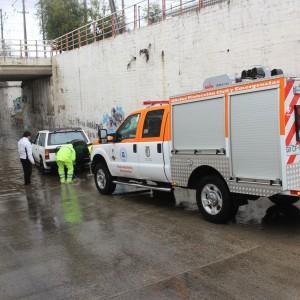 Camioneta de la Oficina de Protección Civill y Emergencias de la I. Municipalidad de Villa Alemana