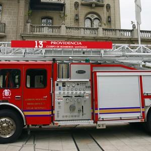 BX13 del Cuerpo de Bomberos de Santiago