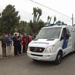 Unidad HAZ-MAT Segunda Compañía de bomberos de Lota