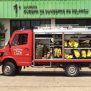 R1 Pelarco donado por bombero.ch suiza