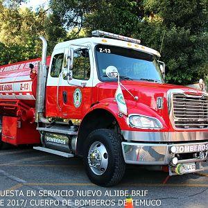 Z-13 BRIGADA FORESTAL CUERPO DE BOMBEROS DE TEMUCO