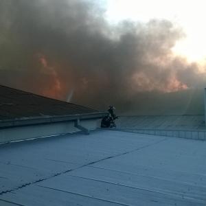 Incendio Puerto Madero (Los Ángeles)